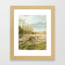 Peace and Solitude.   Framed Art Print