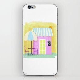 Ice Cream Shop iPhone Skin