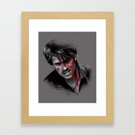 Broken, Beat & Scarred Framed Art Print