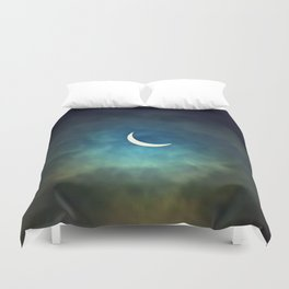 Solar Eclipse 1 Duvet Cover