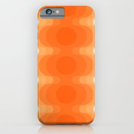 Echoes - Creamsicle iPhone Case