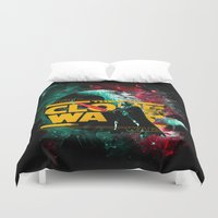 starwars Duvet Covers featuring STARWARS by Burcu Korkmazyurek