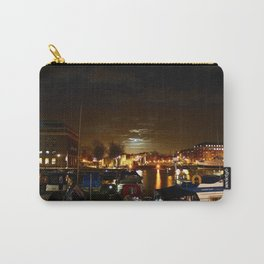 Yellow Moon Carry-All Pouch
