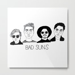 Bad Suns Metal Print
