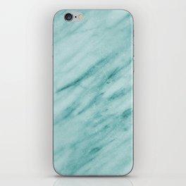 Audace Turchese green marble iPhone Skin