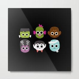 Monster Mash Metal Print