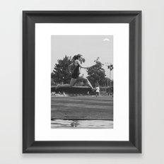 GET UP Series Framed Art Print