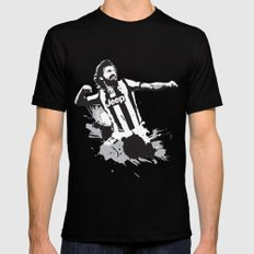 Andrea Pirlo LARGE Mens Fitted Tee Black
