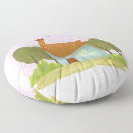 House #1 Floor Pillow