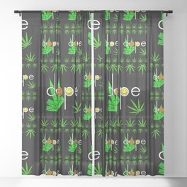 Dope Sheer Curtain