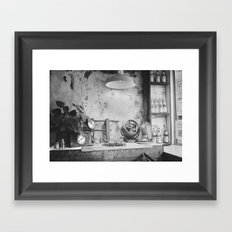Seen in Lower Manhattan  Framed Art Print