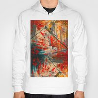 runner Hoodies featuring Kite Runner by CMYKulaga
