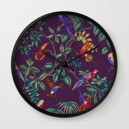 Cute Birds XVII Wall Clock