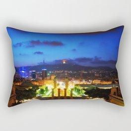Barcelona. Montjuik Rectangular Pillow