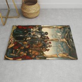 "Lucas Cranach the Elder ""Crucifixion"" Rug"