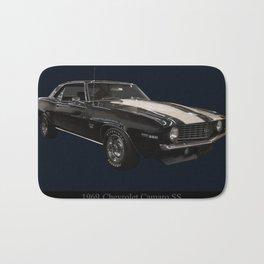 1969 Chevy Camaro Ss Bath Mat