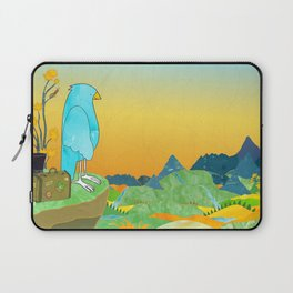 """The Journey Begins (from the book, """"You, the Magician"""") Laptop Sleeve"""