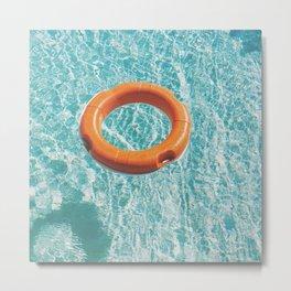 Swimming Pool III Metal Print
