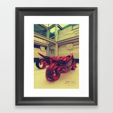 BIXE.CB7 Framed Art Print