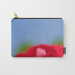 Red Rose Blue Sky Carry-All Pouch