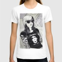 lou reed T-shirts featuring Lou Reed by IvándelgadoART