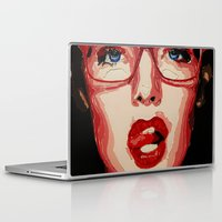 the office Laptop & iPad Skins featuring Office style by AsyaCreativeArt
