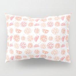 Paloma Grapefruit White Pillow Sham
