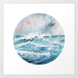 I dream of the ocean Art Print