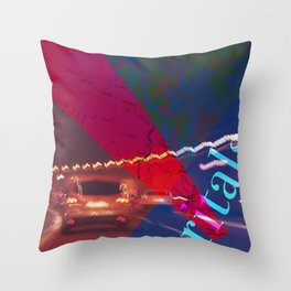 Story of the Roads - 3 Throw Pillow