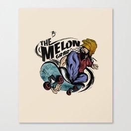 The Melon Grab Canvas Print