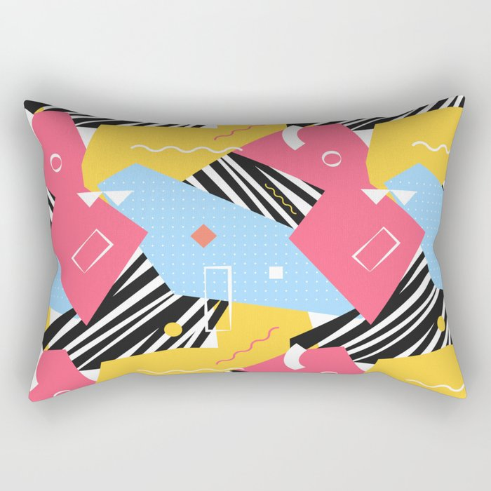 Memphis Two Rectangular Pillow