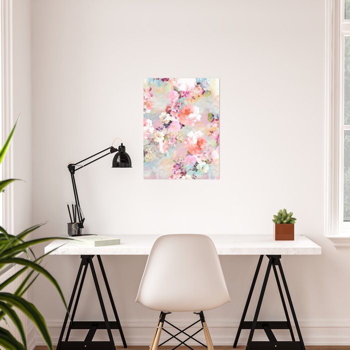 Love of a Flower Poster