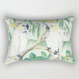 Saffron Cockatoo Rectangular Pillow