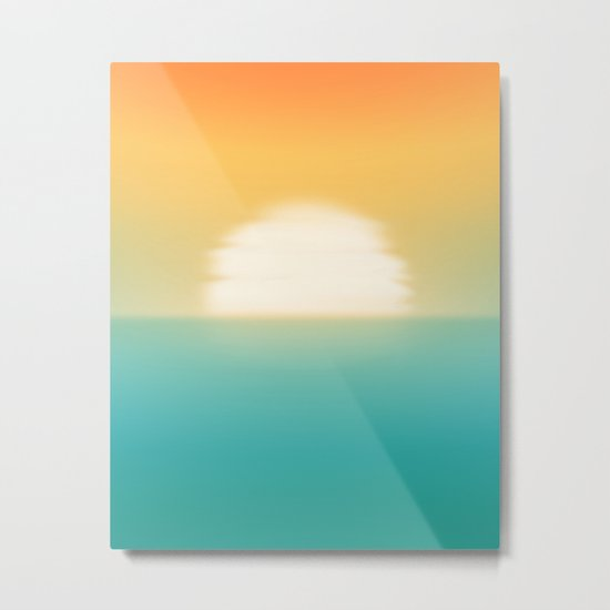 Into the horizon Metal Print
