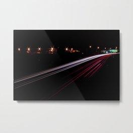Crosstown Traffic Metal Print