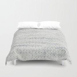 Gray Wool Duvet Cover