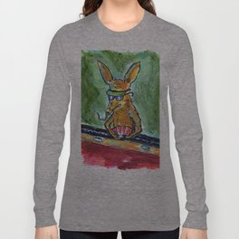 Aardvark Card Shark Long Sleeve T-shirt