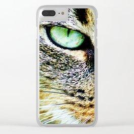 Catty Clear iPhone Case