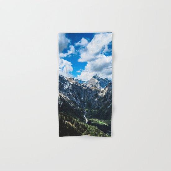Overcoming Mountains Hand & Bath Towel