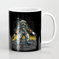 Texas Chainsaw Astronaut Mug