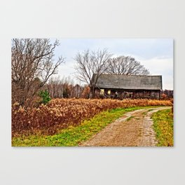 Wisconsin Old Barn 2 Canvas Print