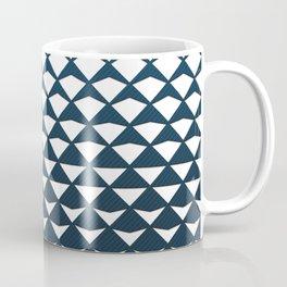 Diamond Fold Coffee Mug