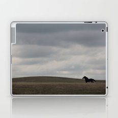 Horse running open prairie Laptop & iPad Skin