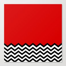 Black Lodge Dreams (Twin Peaks) Canvas Print