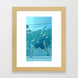 Yoga-5 Framed Art Print