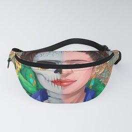 Frida Skull Fanny Pack