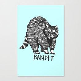 The Raccoon Bandit Canvas Print