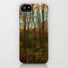 Fall Encroachment iPhone Case
