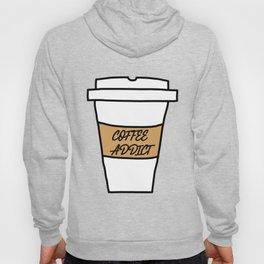 Coffee addict stain Hoody