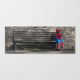 Can't Be Bothered Canvas Print